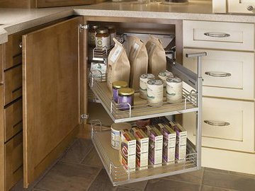 Как использовать эффективно кухонный угол