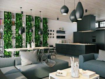 Квартира, утопающая в зелени