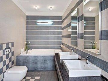Экономичные решения для стен в ванной
