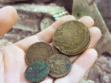 В центре Москвы нашли клад из монет царских времен