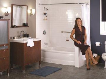 Бюджетные идеи по оформлению ванной комнаты