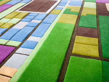 Оригинальные ковровые покрытия