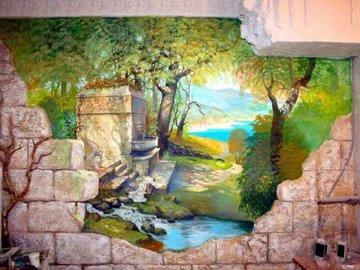 Художественная роспись стен: как реализовать оригинальный декор?