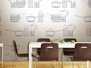 Обои для маленькой кухни: как визуально увеличить пространство