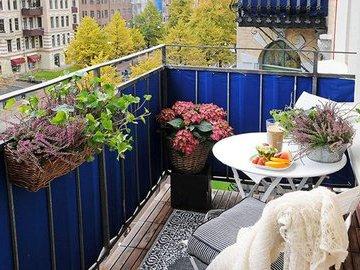 Как превратить балкон в райский уголок?