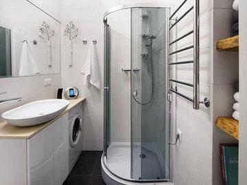 Дизайн маленькой ванной комнаты - три лайфхака
