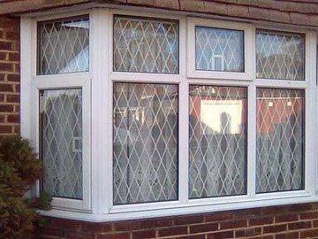 Защита пластиковых окон на даче.