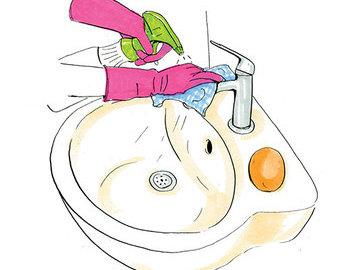 Самые грязные места в ванной комнате
