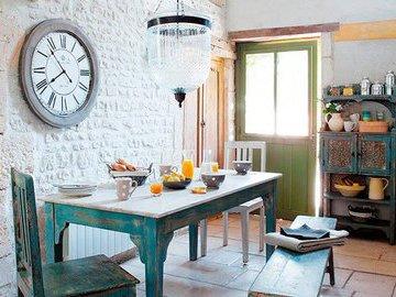 Часы - незаменимый элемент на кухне