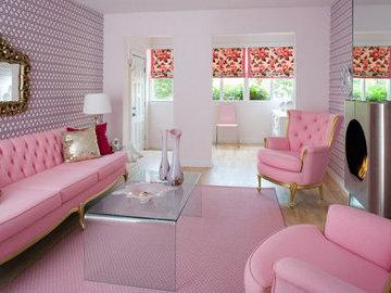 Любимый цвет Барби, или Розовый цвет в дизайне интерьера