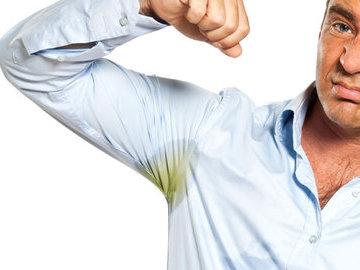 Десять способов избавиться от пятен пота
