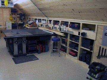 Идеи для организации домашней мастерской