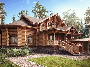 Изучаем типы деревянных домов