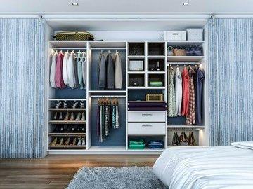 Как толково разместить вещи в шкафу