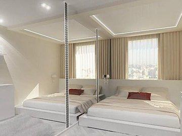Способы сделать комнату визуально больше (часть 1)