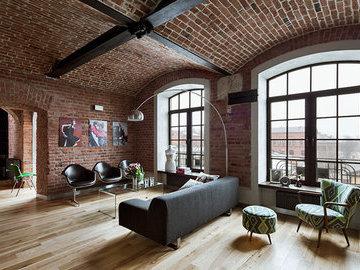 Как оформить интерьер в индустриальном стиле?