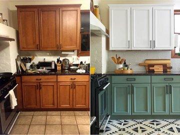 11 ошибок при покраске кухонных шкафов