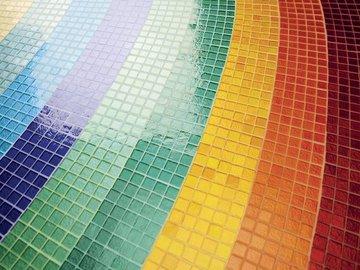 Затирка для мозаики: выбор и особенности применения