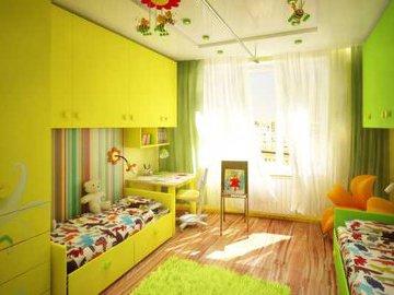 Планировка детской комнаты: какие есть решения