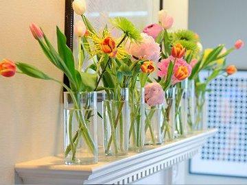 Идеи по украшению дома цветами