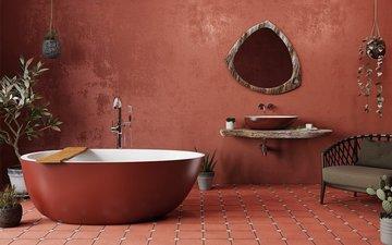 Особенности дизайна интерьера ванной комнаты с джакузи