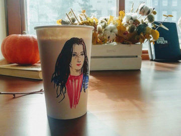 В Казани открылось кафе, где продают кофе и ваши портреты