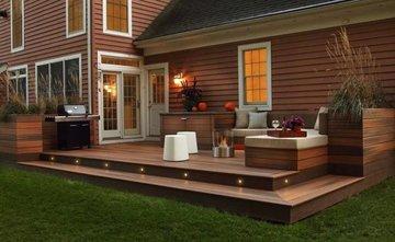 Как оформить террасу загородного дома?