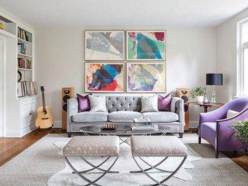 Лучшие способы добавить цвет в гостиную