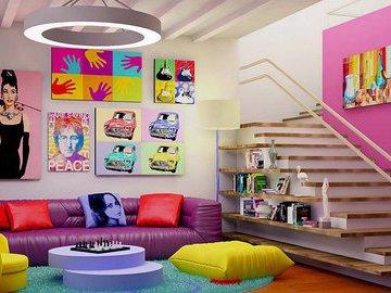 Идеи использования цветовых решений в ваших комнатах