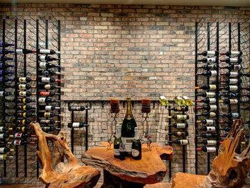 Варианты хранения вина и их применение в современном интерьере