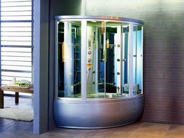 Потрясающие душевые кабины для маленьких ванных комнат. Часть 1