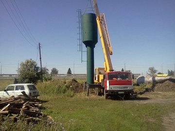 В Челябинске коммунальщик сдал в металлолом водонапорную башню
