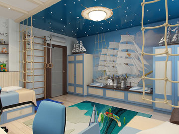 Как оформить квартиру в морском стиле?