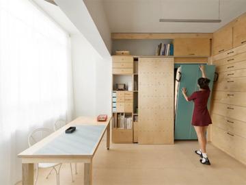 Уютное решение в квартире площадью 8 квадратов