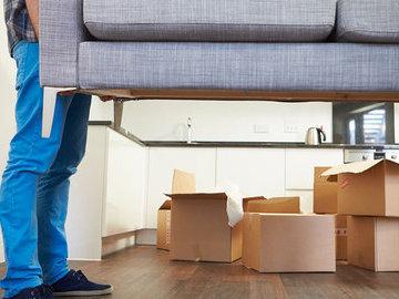Как удобнее двигать мебель во время ремонта