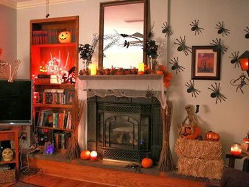 Как украсить дом к Хэллоуину в 2019 году