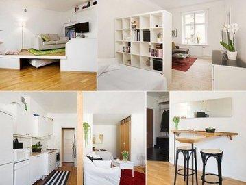 Шесть лайфхаков: как увеличить маленькую квартиру