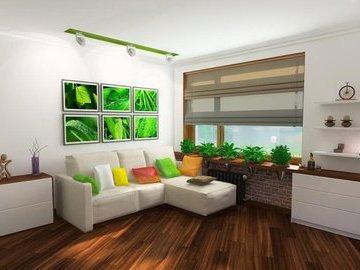 Восемь вариантов экологичного ремонта в гостиной