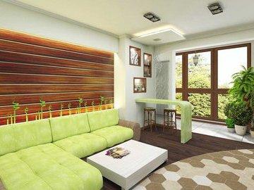Еще восемь вариантов экологичного ремонта в гостиной