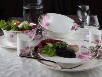 Посуда в интерьере: кухонная, сервировочная, декоративная