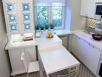 Как задействовать всю площадь маленькой кухни