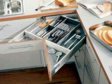 Хитрости комфорта в небольшой кухне