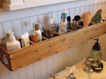 Идеи для полки в ванной