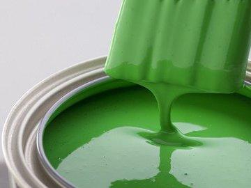 Интересные варианты зеленой краски