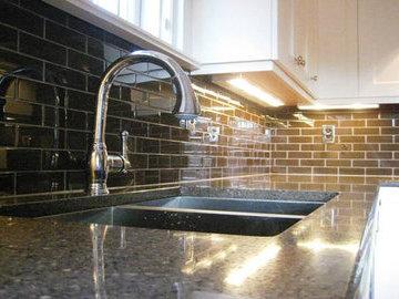 Варианты использования плитки Metro на кухне