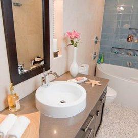 Как визуально увеличить пространство маленькой ванной