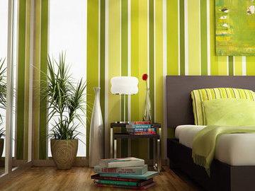 Расширяем пространство в комнате при помощи разных цветов