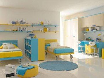 Идеи оформления детской комнаты для близнецов