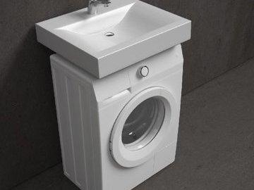 Зачем нужна раковина над стиральной машиной?