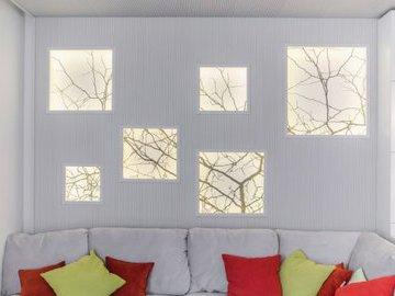 Как с помощью фальш-окна изменить восприятие комнаты
